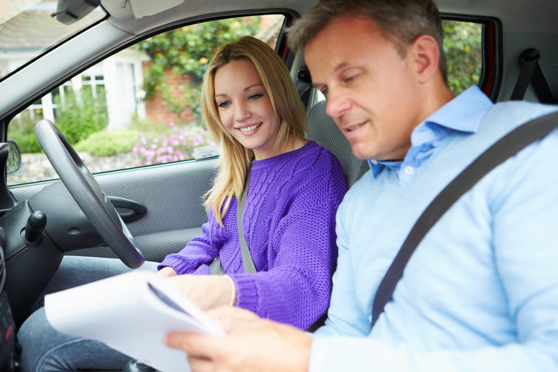 Driving instructor training in Burton