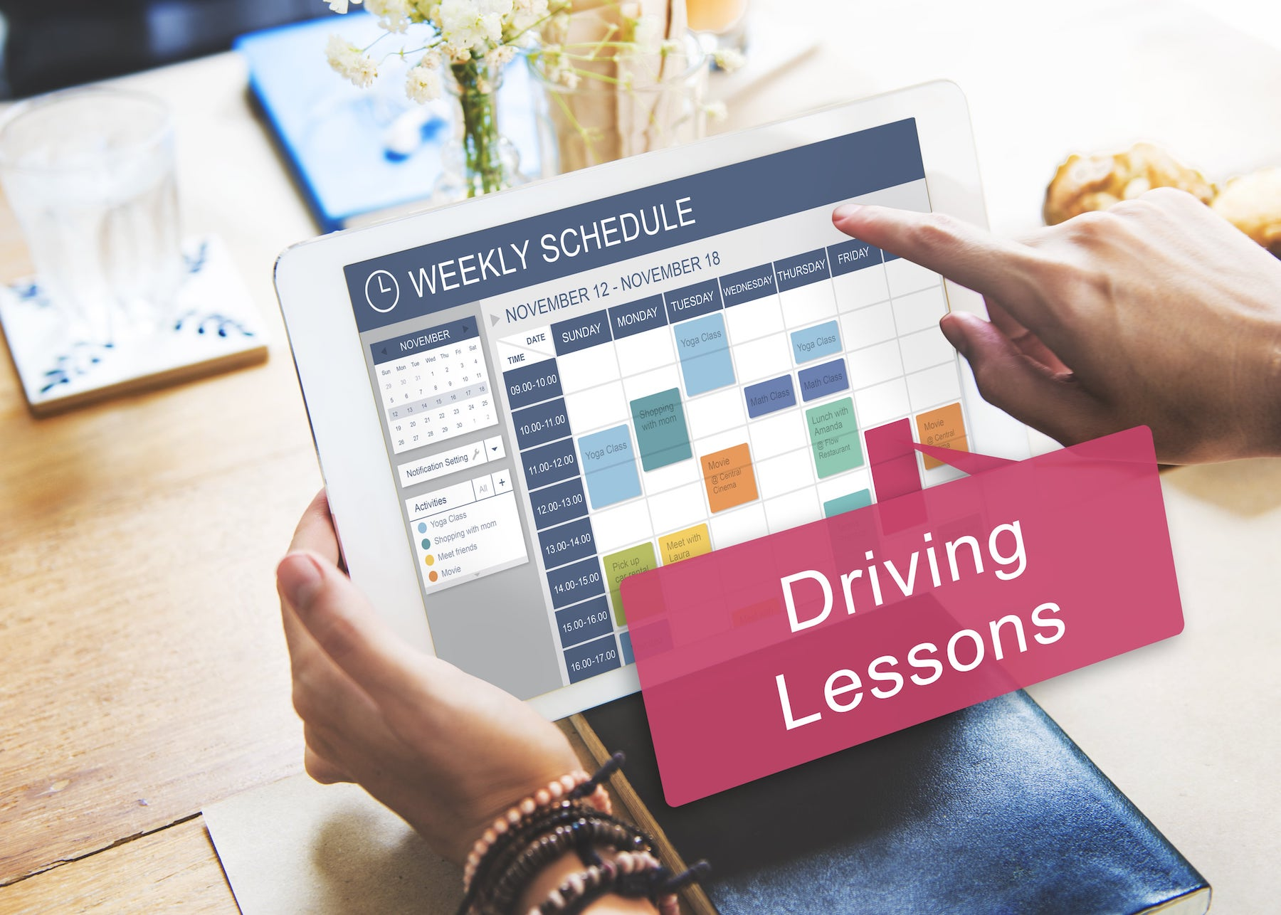 Driving lesson offers