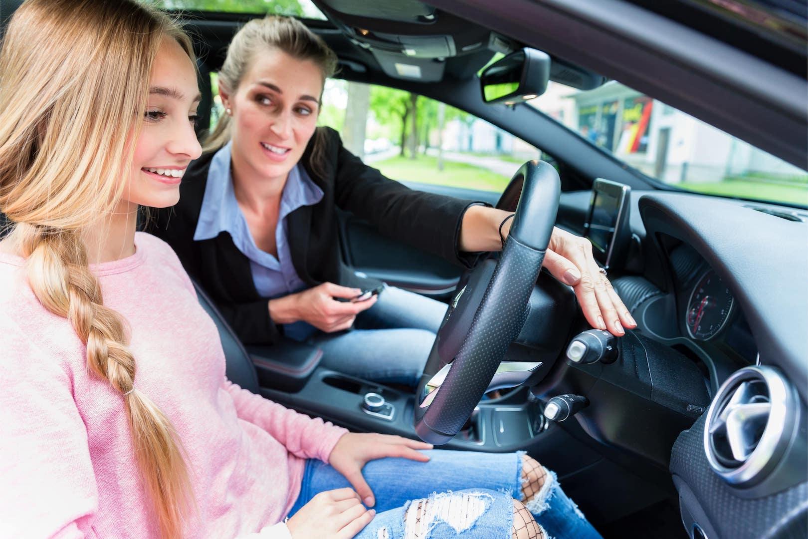 Female driving instructors in Burton