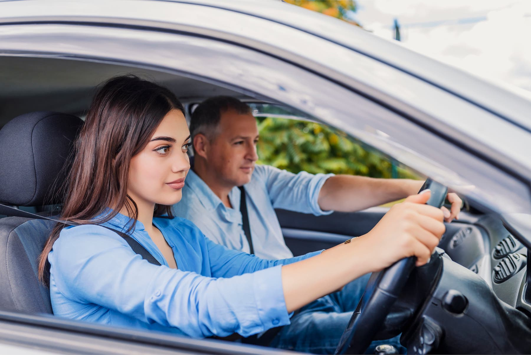 Automatic driving lessons in Burton